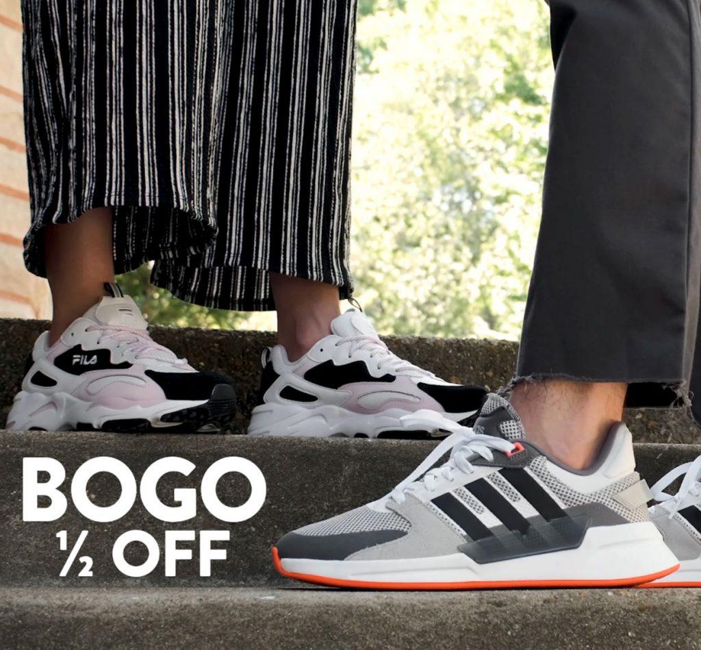 Famous Footwear BOGO 1/2 Off sale